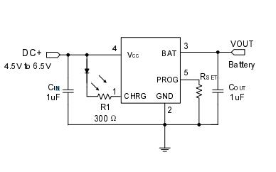 HU5215独立线性热调节锂离子电池充电芯片的数据手册免费下载
