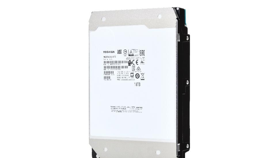 東芝宣布推出18TB MG09系列硬盤