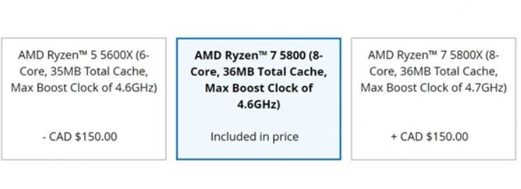 AMD锐龙7 5800桌面处理器详细参数