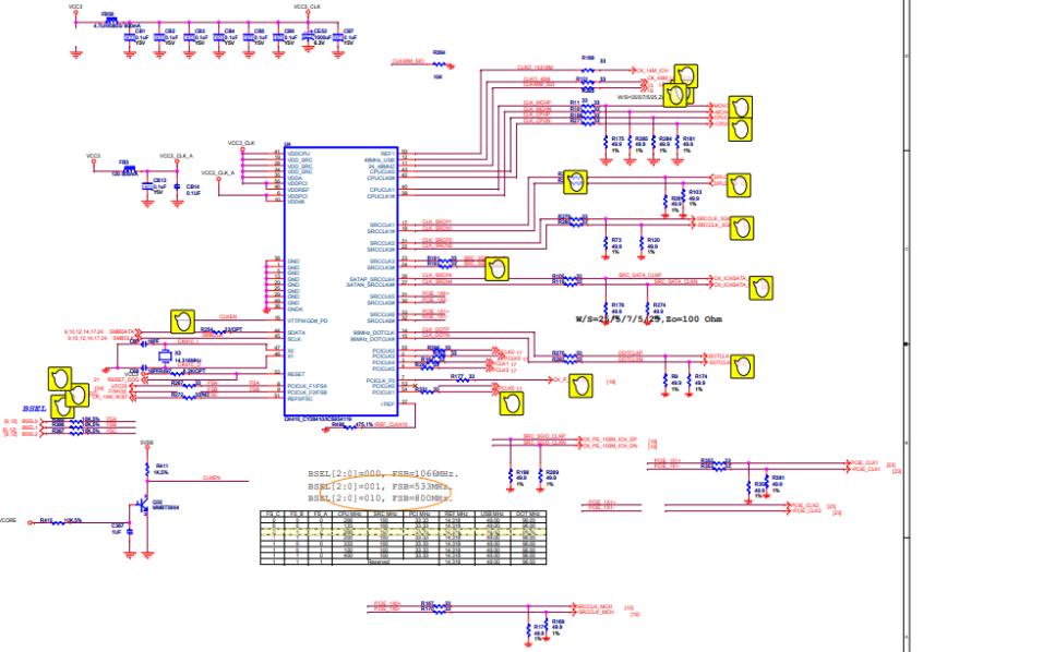 联想G41主板的电路原理图合集免费下载