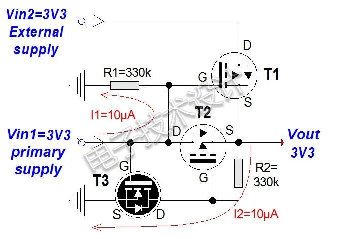 采用3.3V或更低直流电压供电的微控制器方案