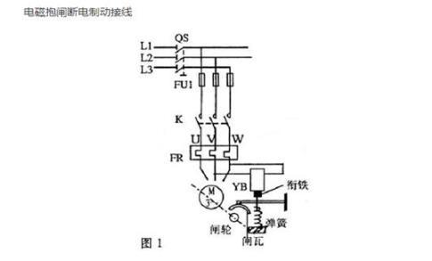 制动电机刹车间隙怎么调整_制动电机接线图