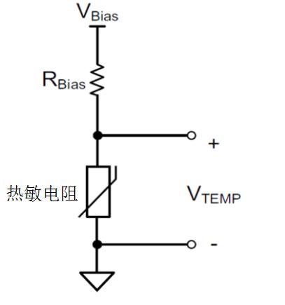 硅基热敏电阻与MCU结合测量热敏电阻的电压输出