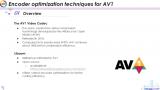 有关AV1的编码器优化技术