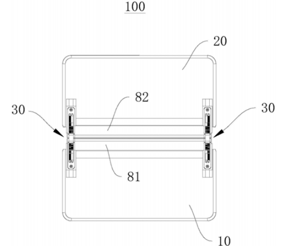 比亚迪可通过滑轨装置消除折叠屏折痕