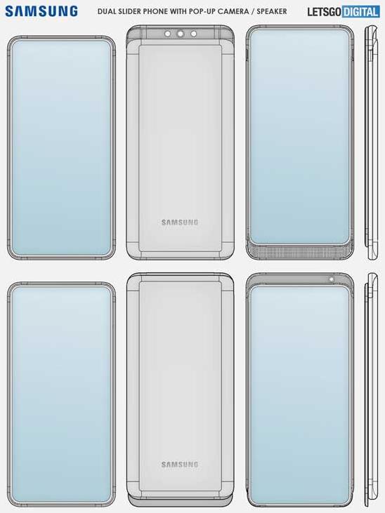 三星已申请双滑盖手机相关专利