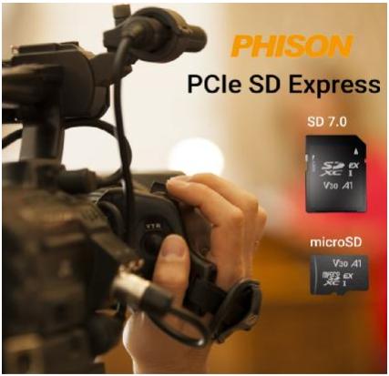 高畫質時代來臨 群聯推出世界首款SD Express卡