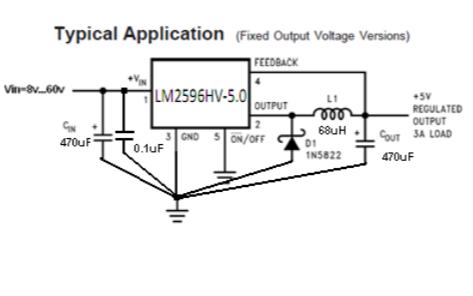 LM2596HV降压稳压器的数据手册免费下载
