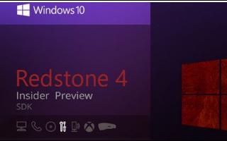 微软对外发布了Win10 SDK的最新预览版本