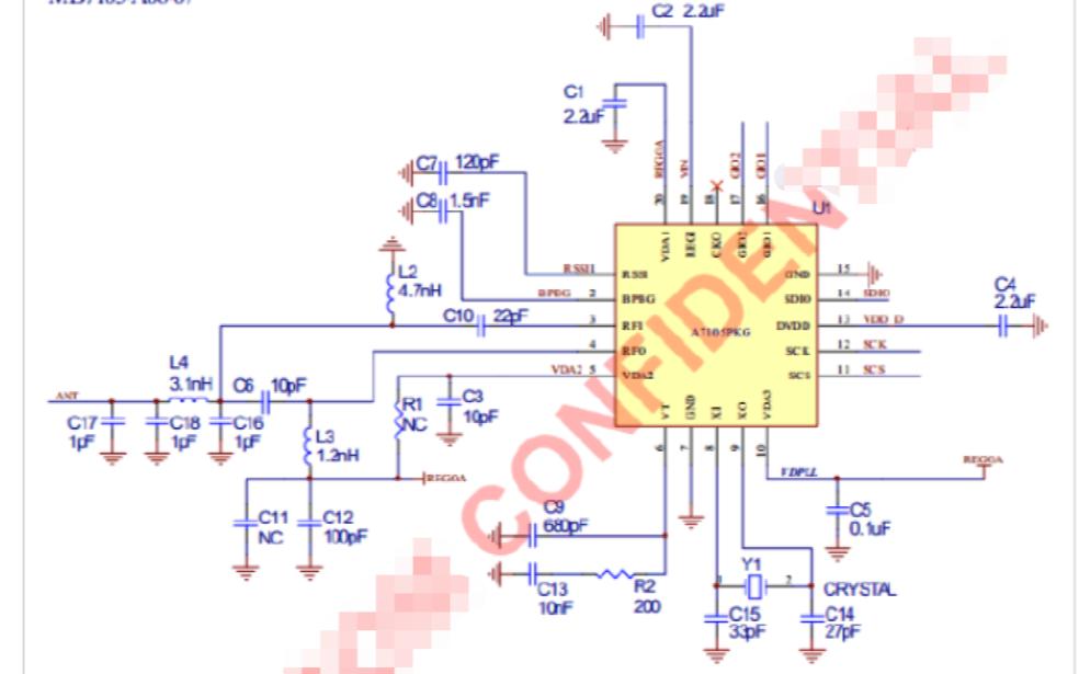 A7105芯片的资料和电路原理图及其模块应用说明