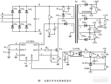 开关电源反馈补偿网络的应用设计