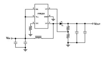 PF6291电流模式升压DCDC转换器的数据手册免费下载