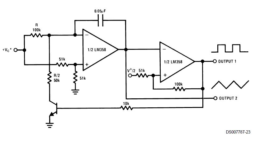 LM158系列双运算放大器的数据手册