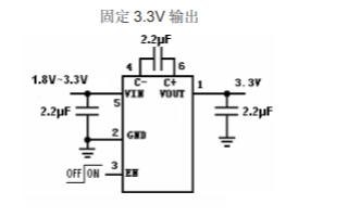 HX4002B电荷泵DCDC转换器的数据手册免费下载