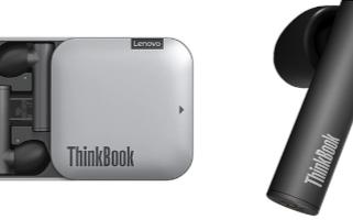 联想推出了一对带有ThinkBook品牌的真正无线耳机