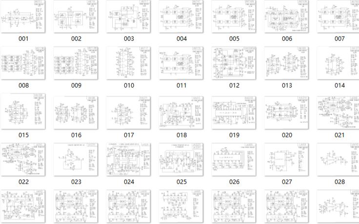 电子工程师福利:100个功放电路图免费下载