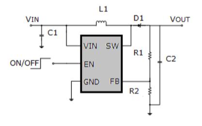 HUB628升压转换器芯片的数据手册