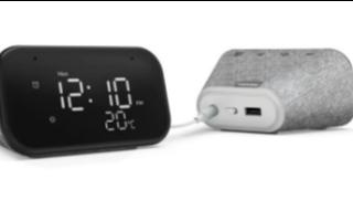新的Smart Clock Essential配备4英寸LED显示屏