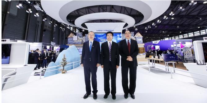 5G毫米波展區閃耀MWC上海,一展生態新圖景