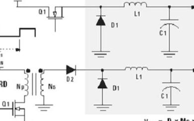 有源箝位正激变换器的基本原理及应用特点研究