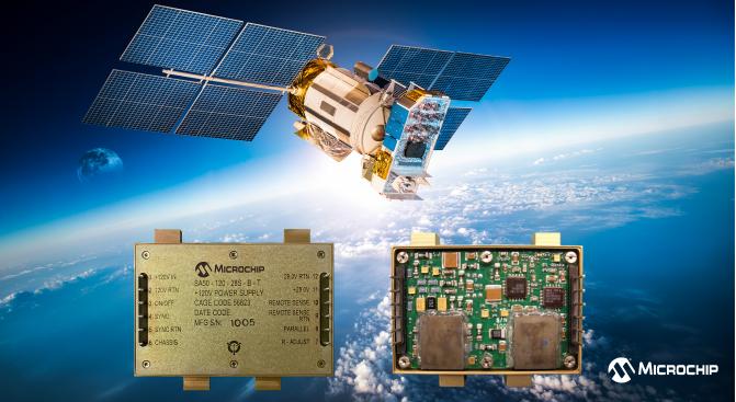 Microchip 宣布推出基于COTS的宇航級抗輻射電源轉換器