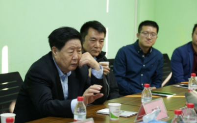 中国中小企业协会会长李子彬一行莅临酷客智能参观访问