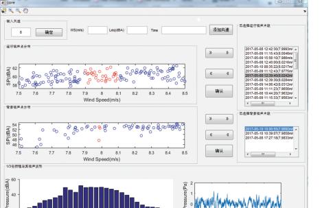 基于MATLAB实现对风力发电机噪声的倍频程分析处理