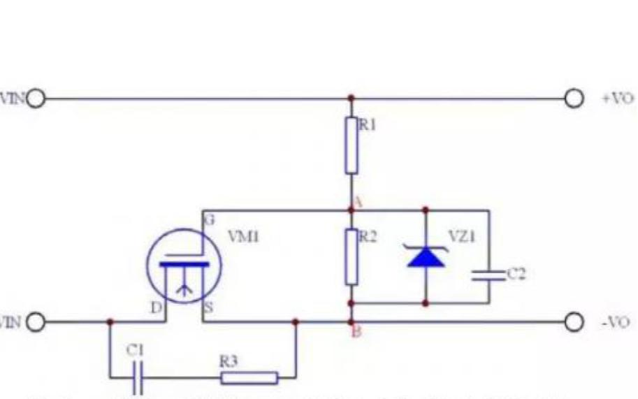几种常用的防反接保护电路的详细资料说明