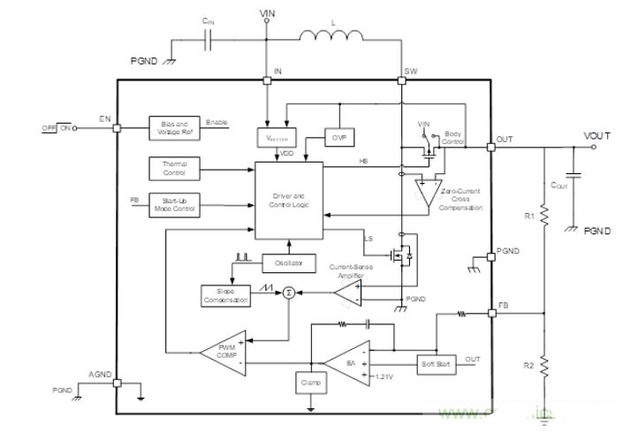 基于MP3424的AA升压电路电源方案