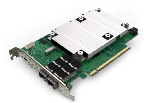 英特尔Silicom FPGA SmartNIC N5010和Inventec FPGA SmartNIC C5020X对比