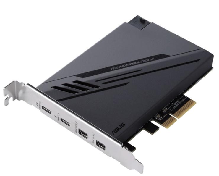 華碩發布PCIe擴展卡ThunderboltEX 4