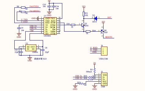 新版STM32F103ZE核心板原理图免费下载