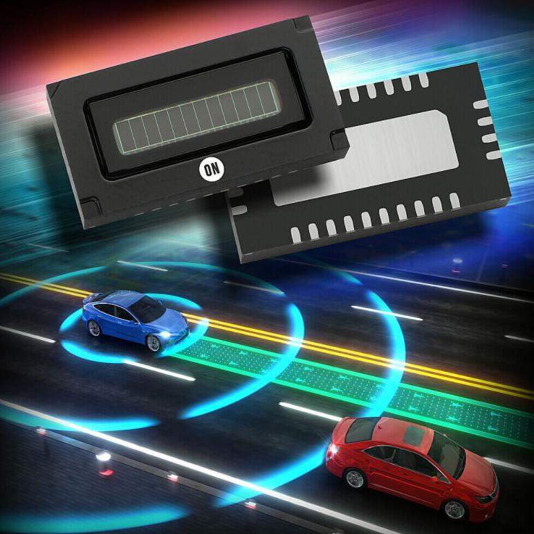 安森美半导体发布世界首款车规硅光电倍增管(SiPM)阵列产品 用于激光雷达应用