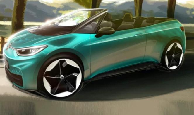 大众正推出一款全新的全电动敞篷车