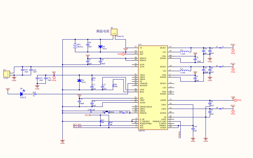 Sparrow开发板电路原理图免费下载