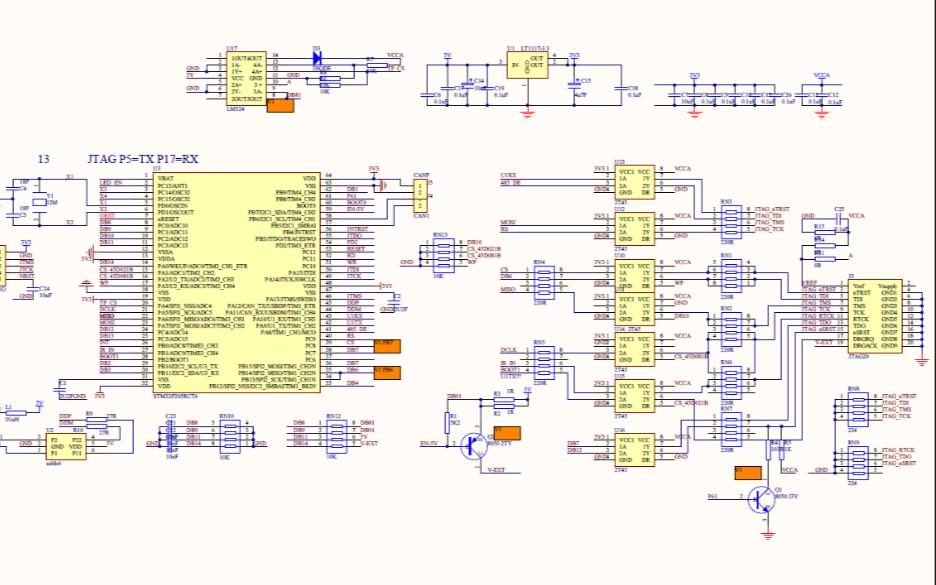 JLink V9的电路原理图免费下载