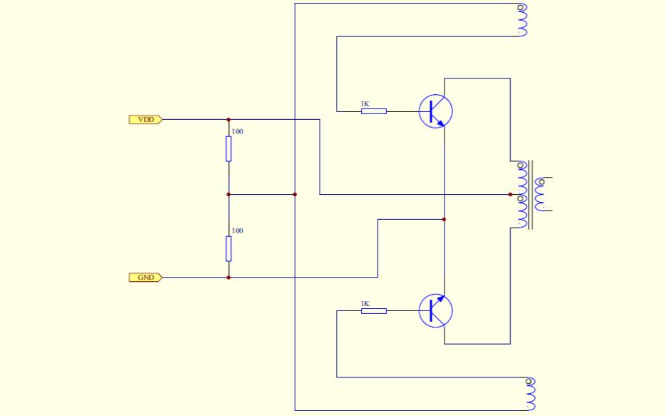 经典1.5V驱动节能电路原理图免费下载