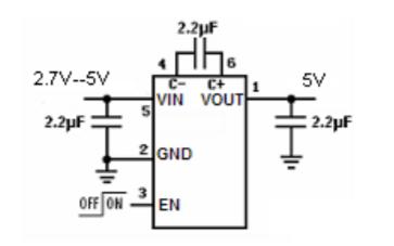 SC4004低噪声稳压电荷泵DCDC变换器的数据手册免费下载