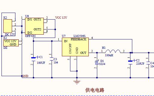 STM32智能平衡小车的详细电路原理图免费下载
