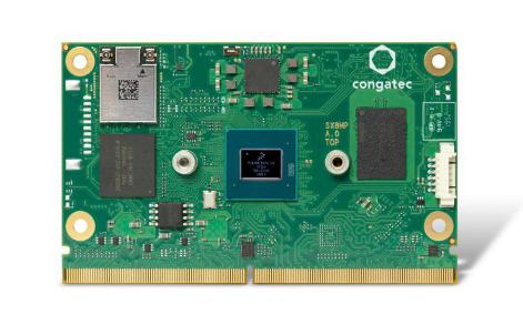 采用NXP i.MX 8M Plus處理器的康佳特SMARC 2.1模塊
