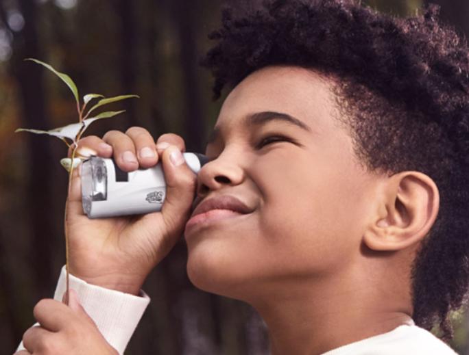 小米有品发布便携式3合一科学显微镜
