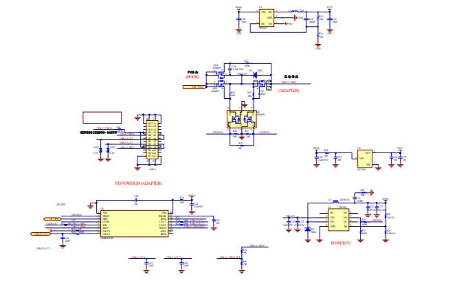LDR6023 USB C型PD控制器的数据手册免费下载