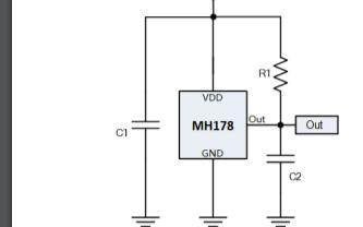 MH178微功率霍爾效應鎖存器的數據手冊免費下載