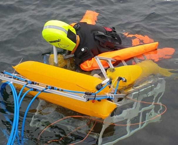 科學家研發可拯救溺水者的水下機器人
