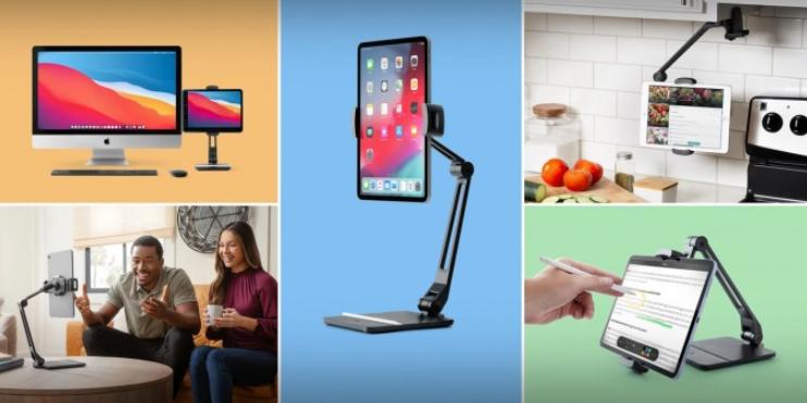 Twelve South推iPad等专用的铰接摇臂