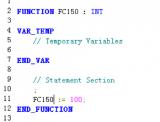 建立FC150 SCL联系程序