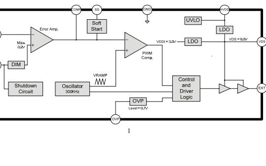FP7208升压LED驱动IC的数据手册免费下载