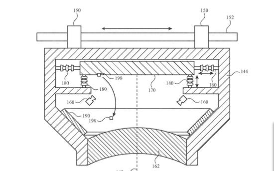 苹果专利曝光:似乎是在眼镜中装马达
