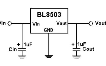 BL8503 CMOS低压差低功耗稳压器的数据手册免费下载