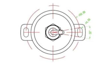 WOA-C霍爾原理非接觸式角度傳感器的資料說明